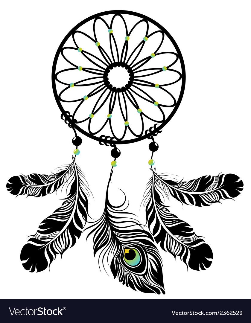 Dream catcher vector | Price: 1 Credit (USD $1)