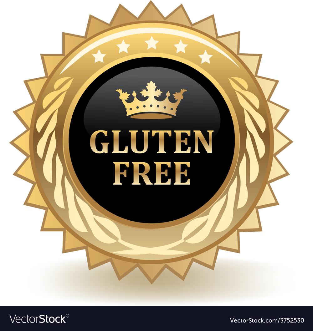 Gluten free badge vector   Price: 1 Credit (USD $1)