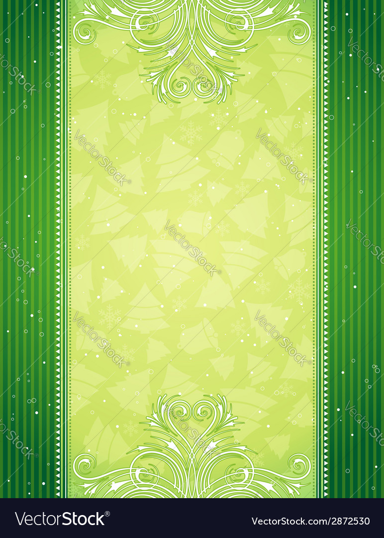 Green christmas background vector   Price: 1 Credit (USD $1)