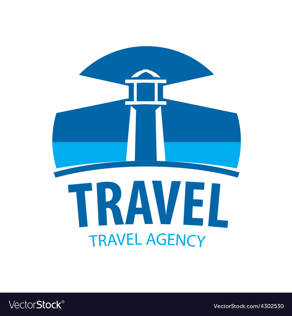 Logo beacon indicating travel vector | Price: 1 Credit (USD $1)