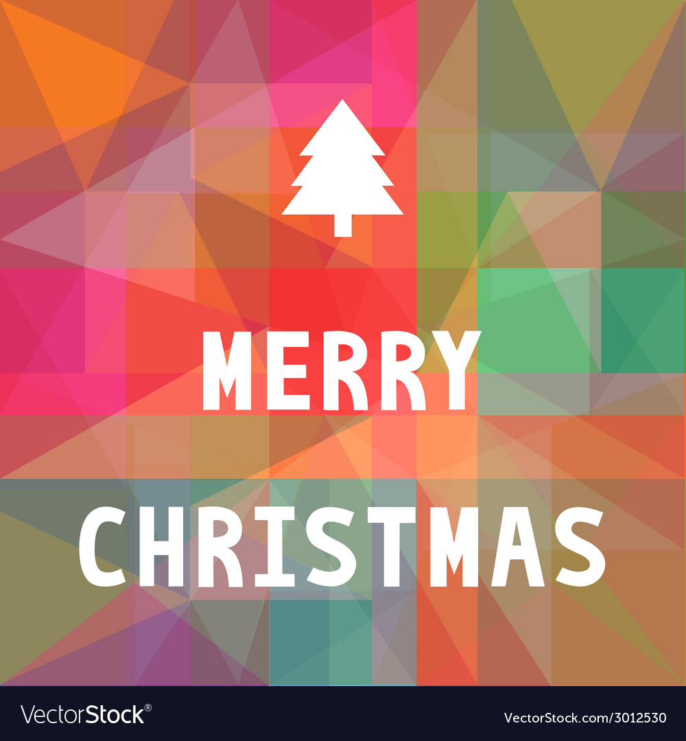 Merry christmas greeting card6 vector | Price: 1 Credit (USD $1)