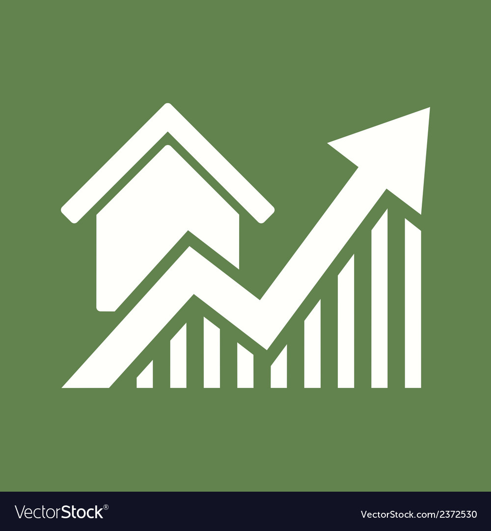 Real estate icon vector   Price: 1 Credit (USD $1)