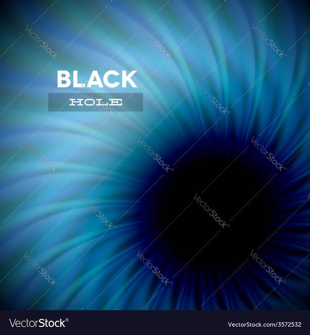 Black hole and wavy rays vector | Price: 1 Credit (USD $1)