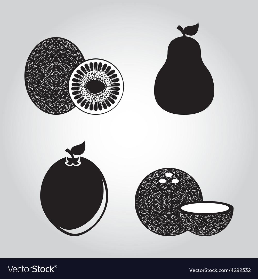 Fresh fruit vector | Price: 1 Credit (USD $1)