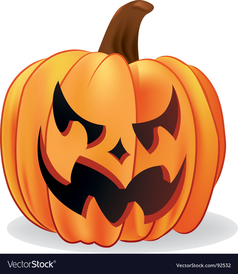 Jack-o-lantern vector | Price: 1 Credit (USD $1)