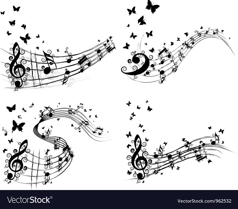 Notes background set vector   Price: 1 Credit (USD $1)