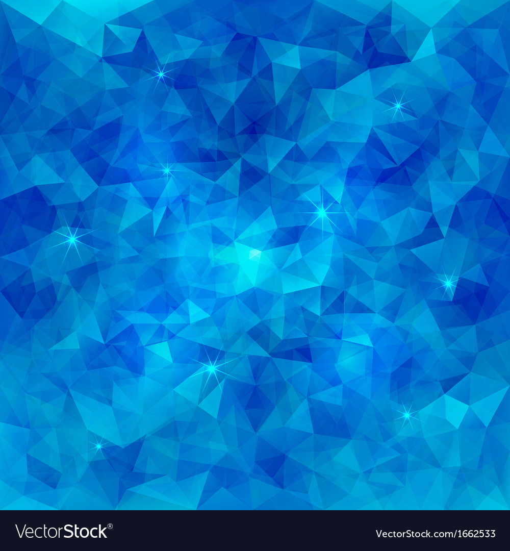 Abstract triangle pattern water background vector | Price: 1 Credit (USD $1)