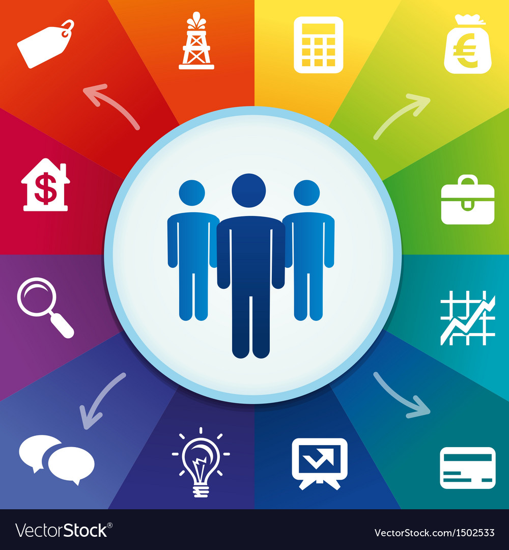 Business concept vector | Price: 3 Credit (USD $3)