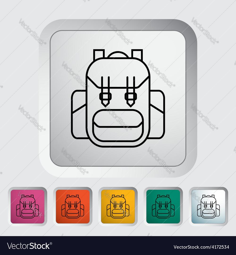 Rucksack vector | Price: 1 Credit (USD $1)