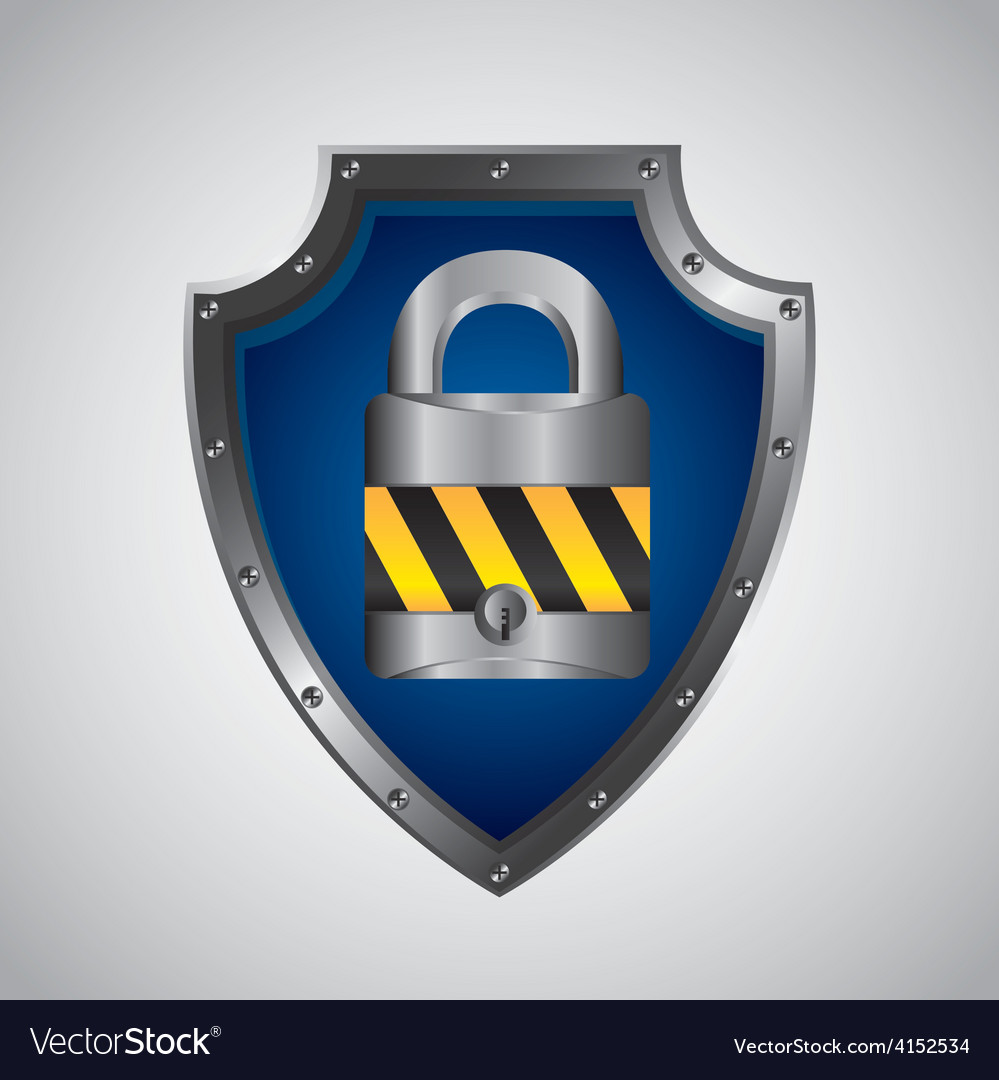 Security shield vector | Price: 1 Credit (USD $1)