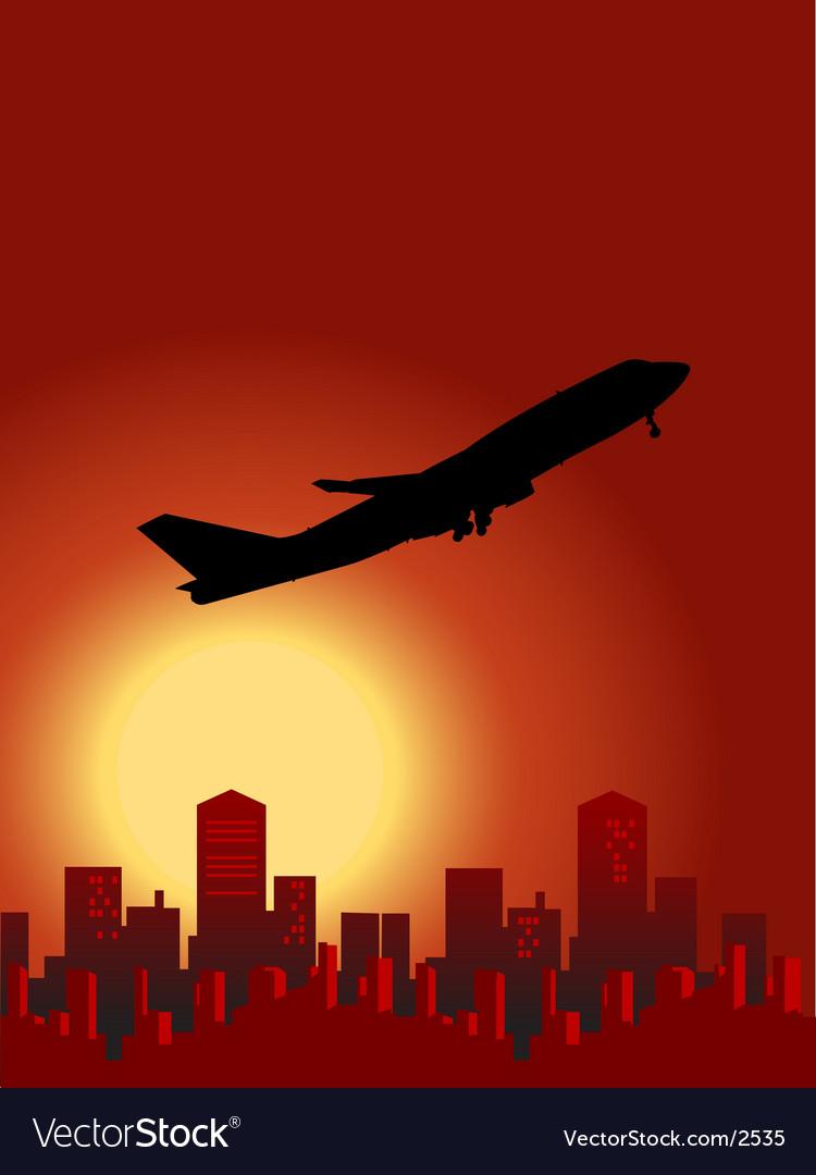 Sunset flight vector   Price: 1 Credit (USD $1)