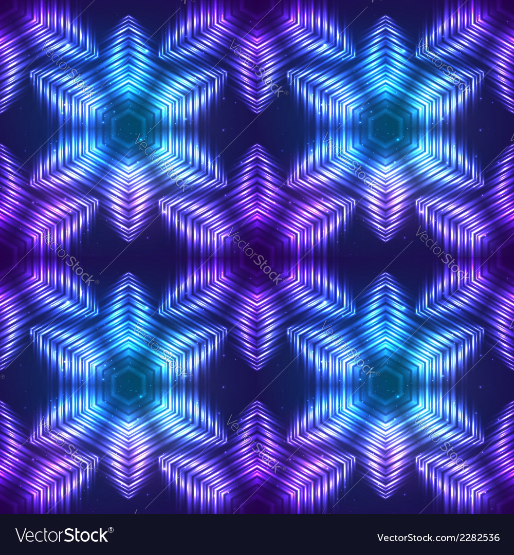 Cosmic shining abstract seamless pattern vector | Price: 1 Credit (USD $1)