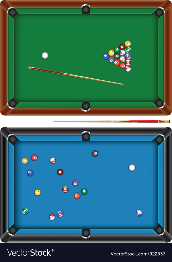 Billiard table vector | Price: 3 Credit (USD $3)