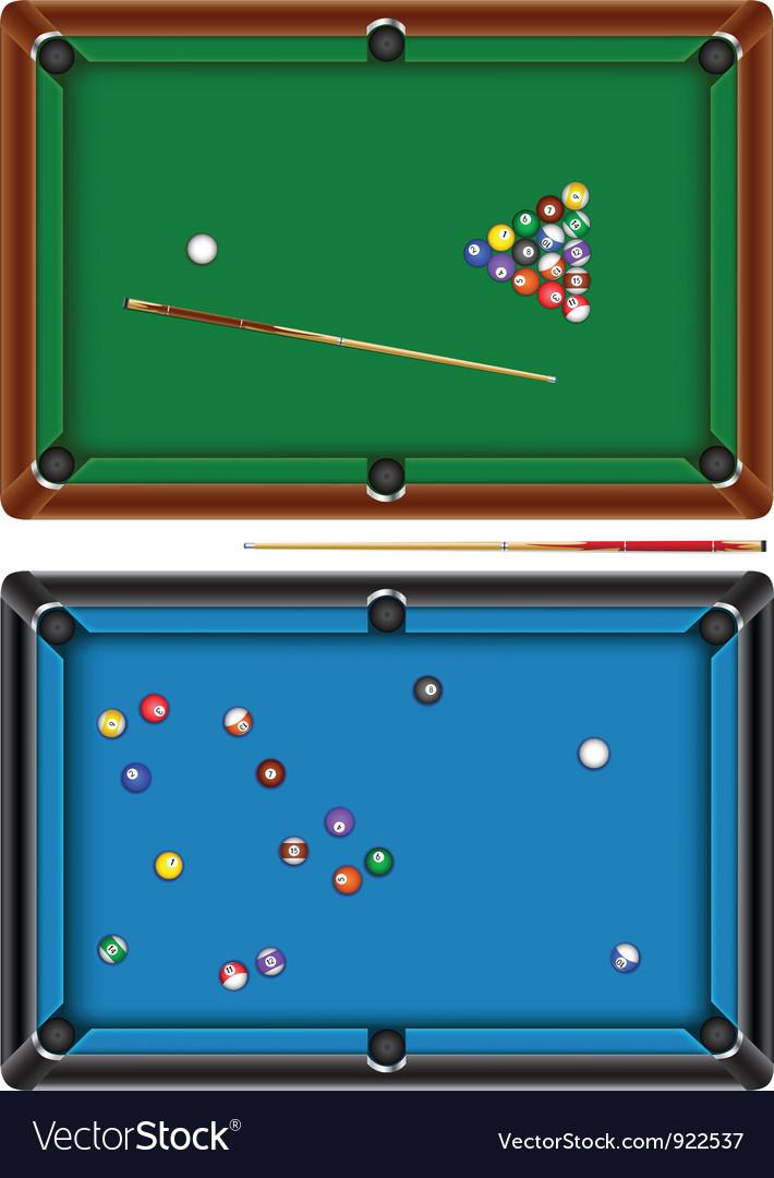Billiard table vector | Price: 3 Credit (USD $3)