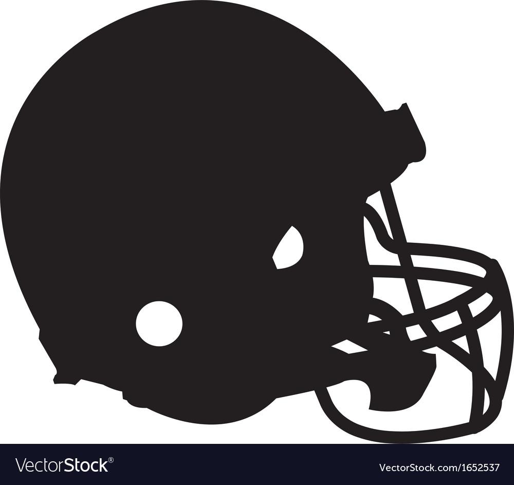 Football helmet vector | Price: 1 Credit (USD $1)