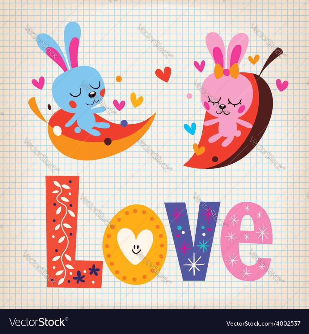 Love 7 vector | Price: 1 Credit (USD $1)