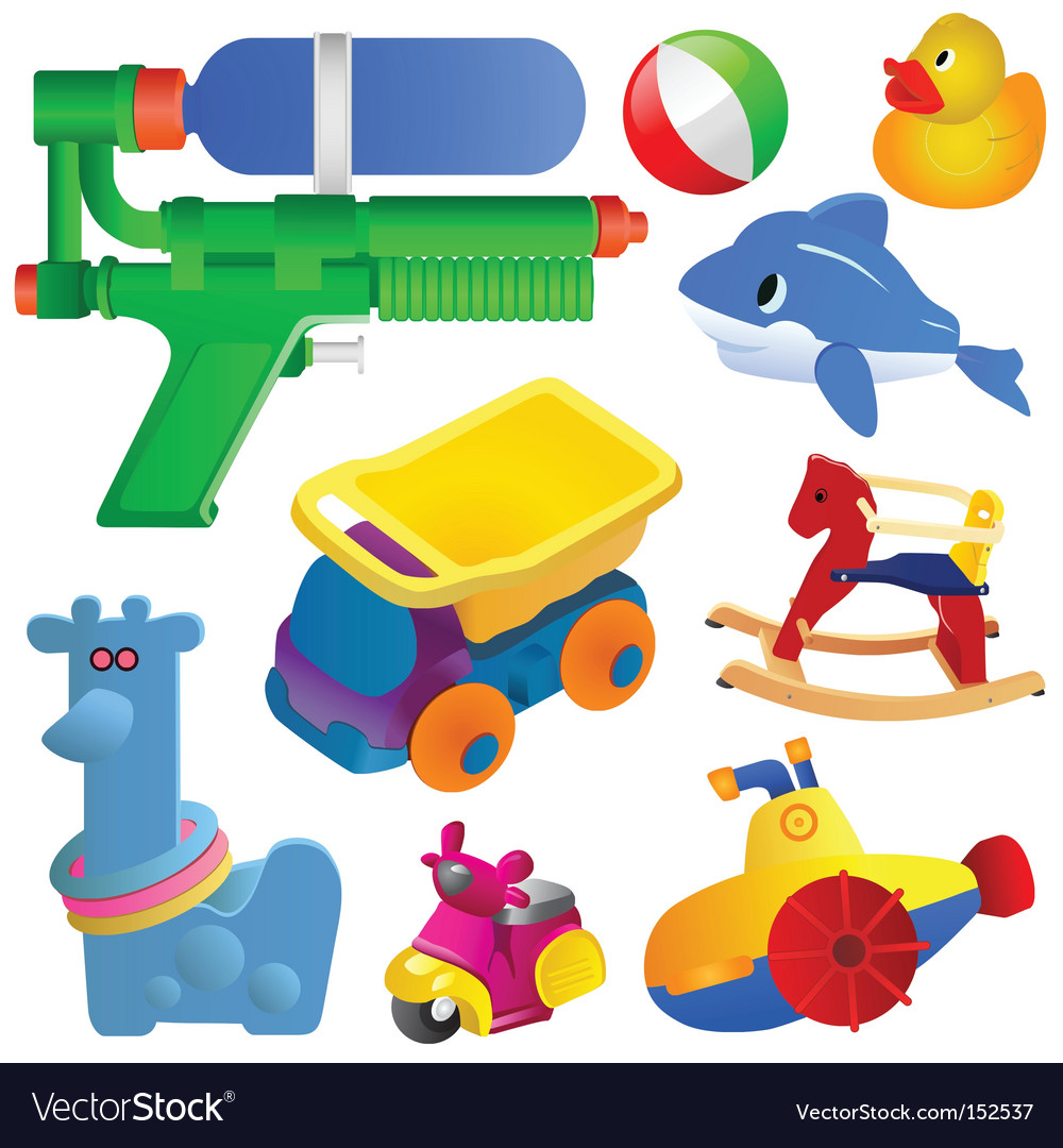Toy set vector | Price: 1 Credit (USD $1)
