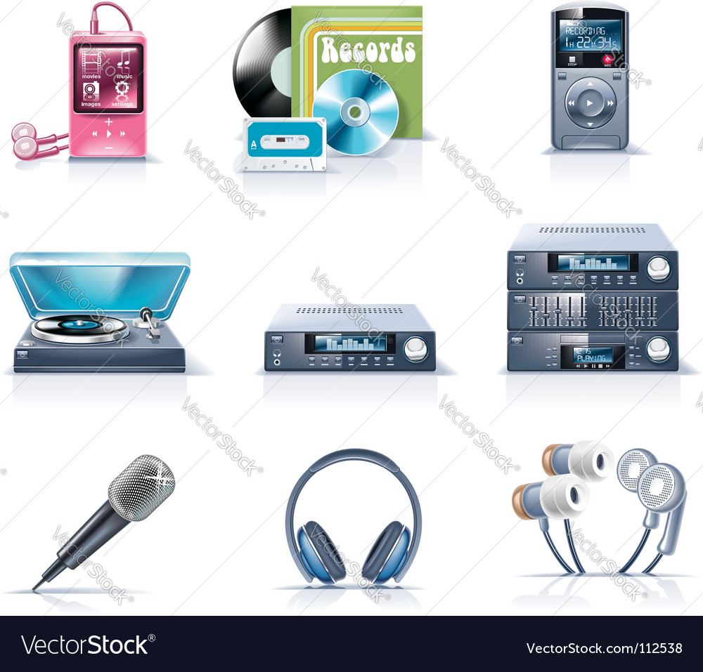 Household appliances vector | Price: 5 Credit (USD $5)
