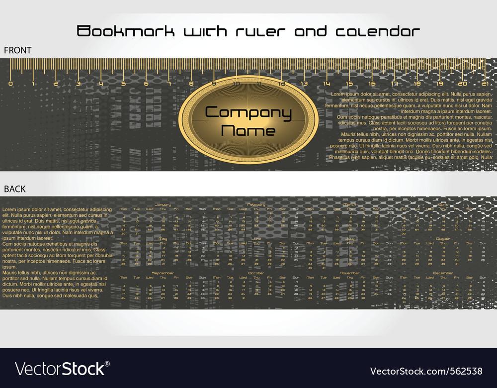 Modern bookmark vector | Price: 1 Credit (USD $1)