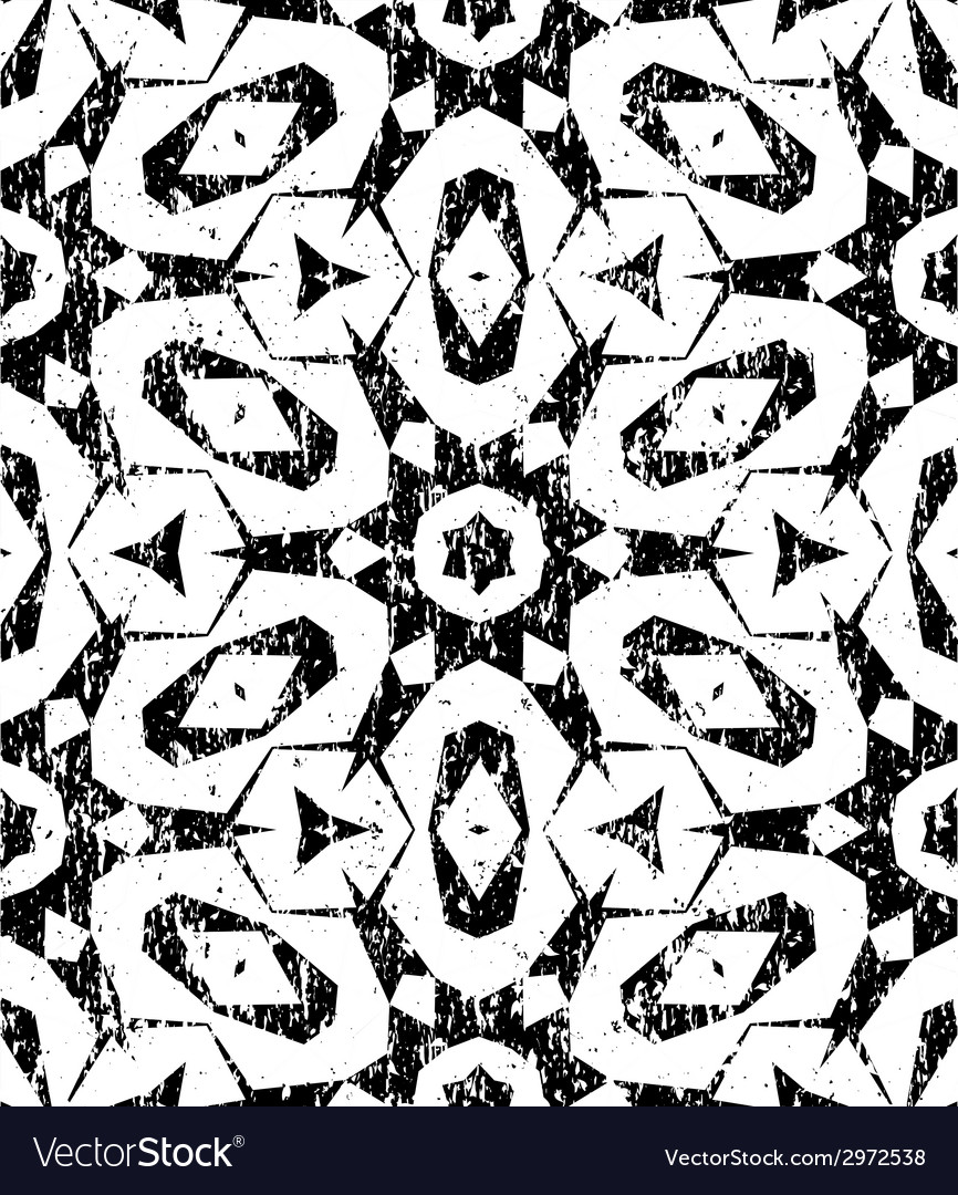 Seamless geometric pattern in modern hipster style vector | Price: 1 Credit (USD $1)