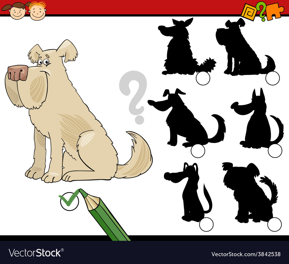 Shadow game cartoon vector | Price: 1 Credit (USD $1)