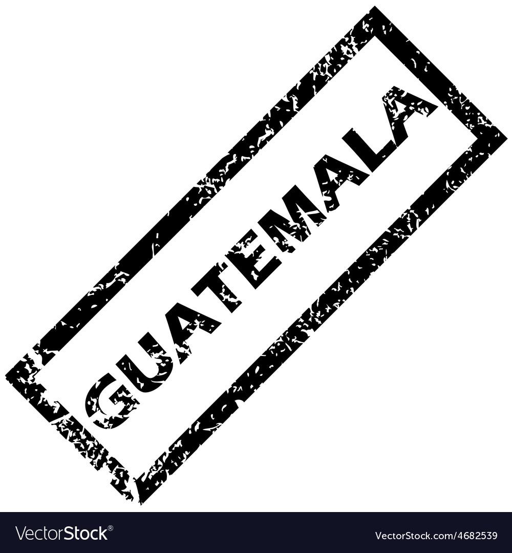 Guatemala rubber stamp vector   Price: 1 Credit (USD $1)