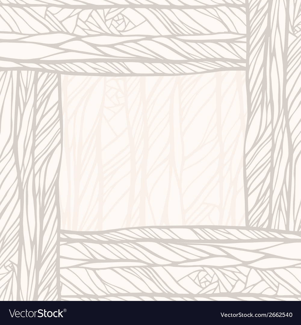 Hand drawn decorative abstract doodle background vector | Price: 1 Credit (USD $1)