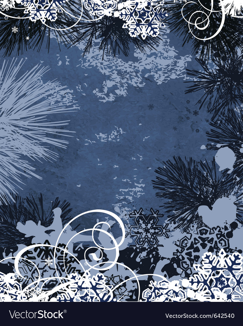 Winter background all elements and textures are in vector | Price: 1 Credit (USD $1)