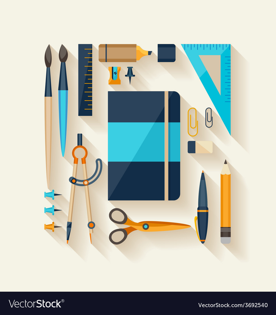 Workplace tools vector | Price: 1 Credit (USD $1)