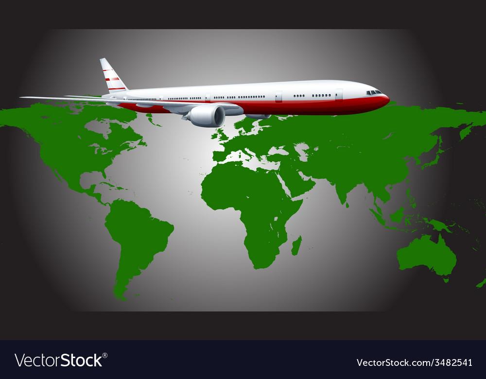 Aeroplane vector | Price: 1 Credit (USD $1)