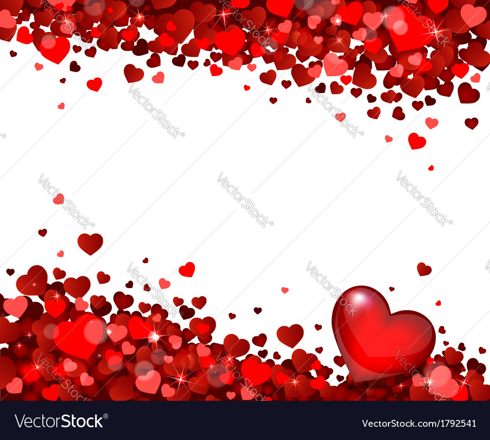 Background of hearts vector   Price: 1 Credit (USD $1)
