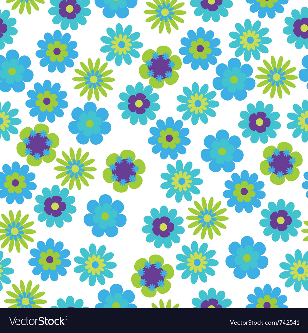 Bright floral vector | Price: 1 Credit (USD $1)