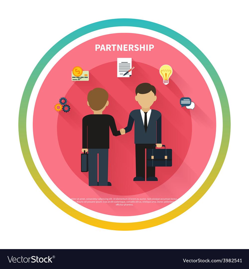 Businessmen on business meeting vector | Price: 1 Credit (USD $1)