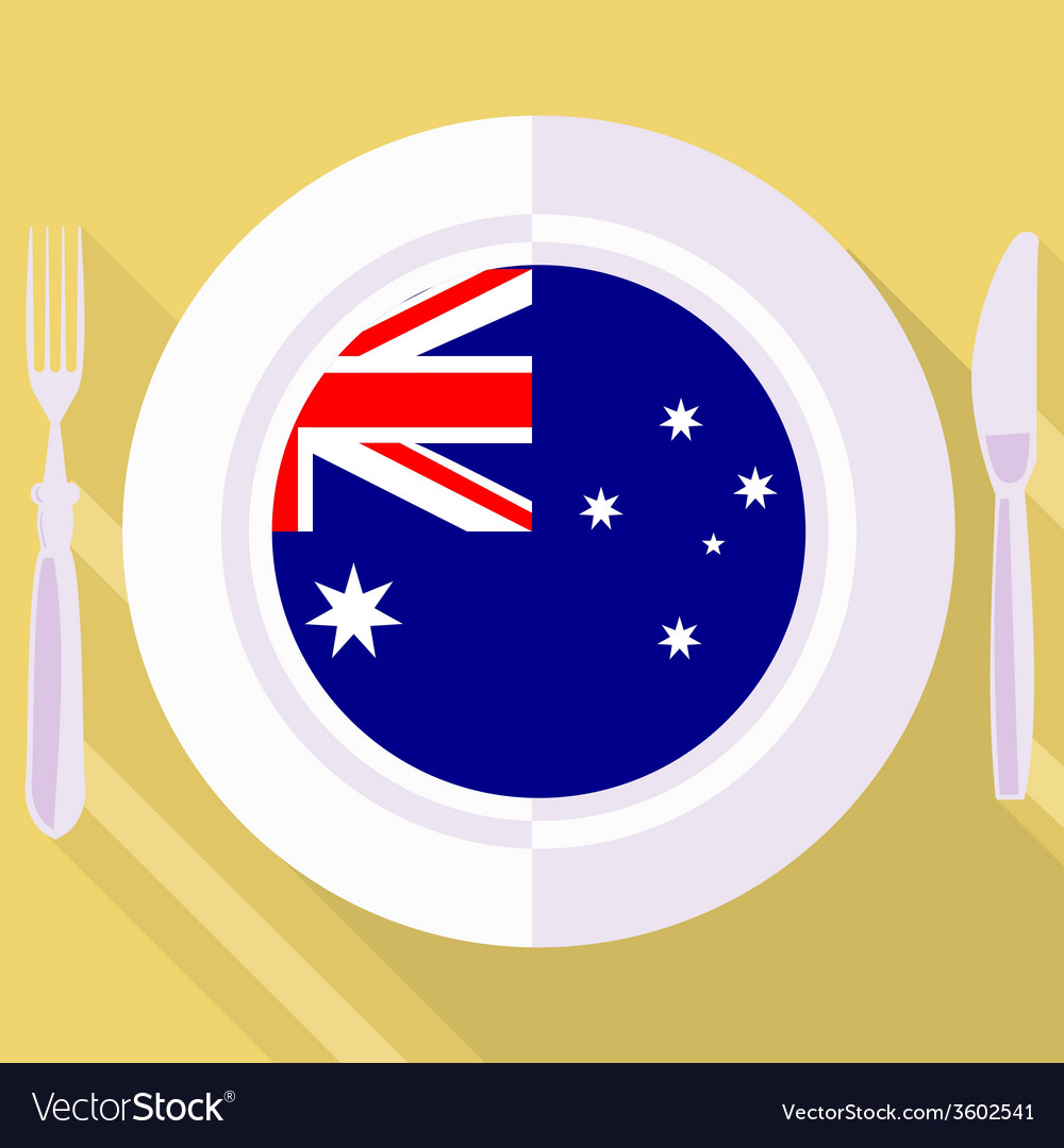 Kitchen of australia vector | Price: 1 Credit (USD $1)