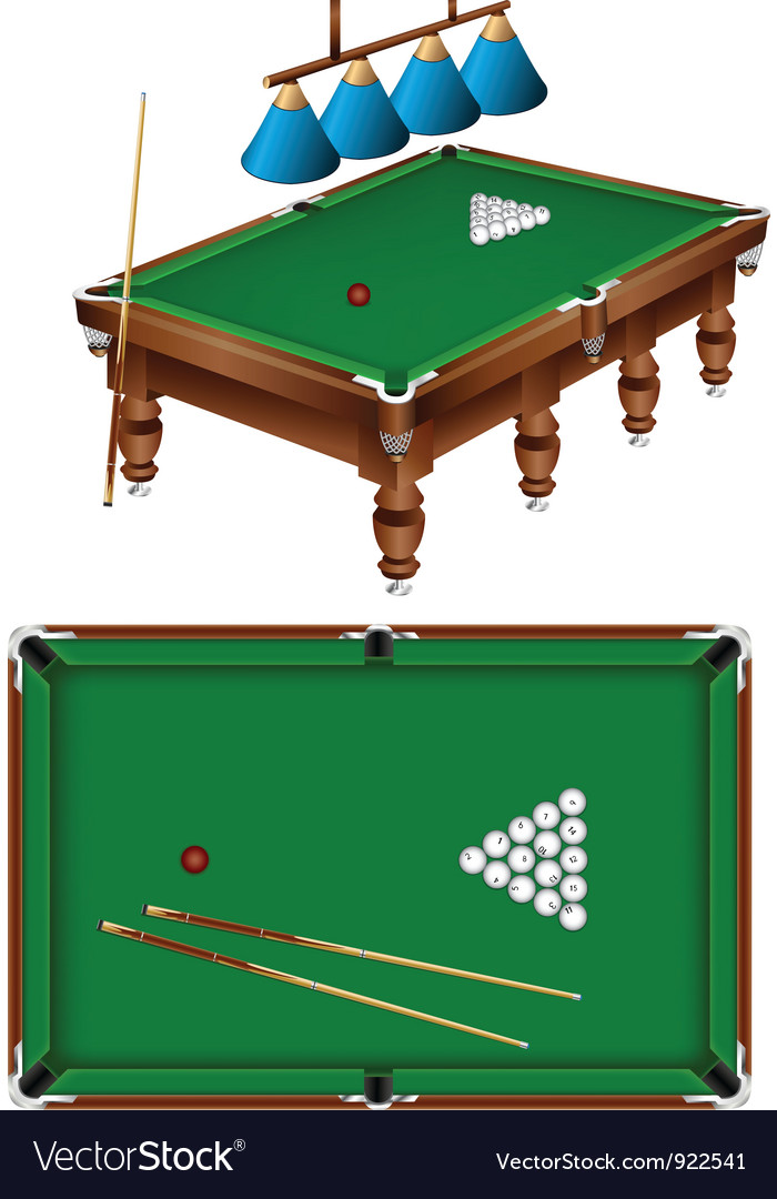 Russian billiard vector | Price: 3 Credit (USD $3)