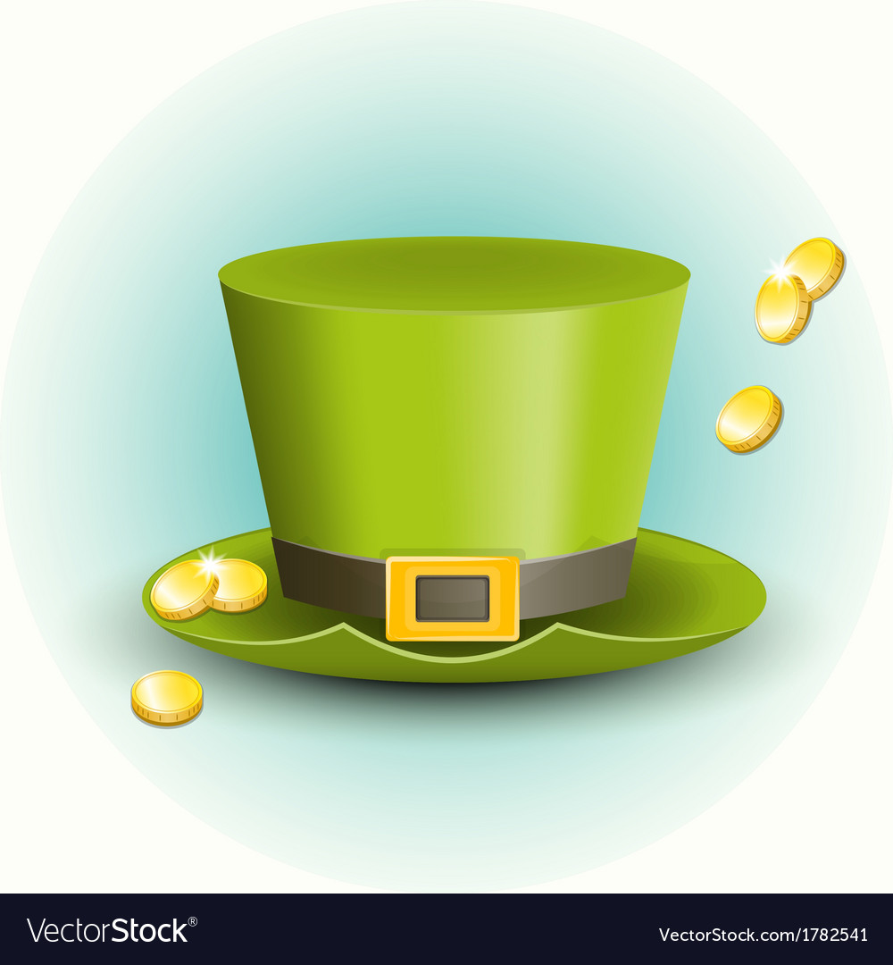 St patricks day hat vector | Price: 1 Credit (USD $1)