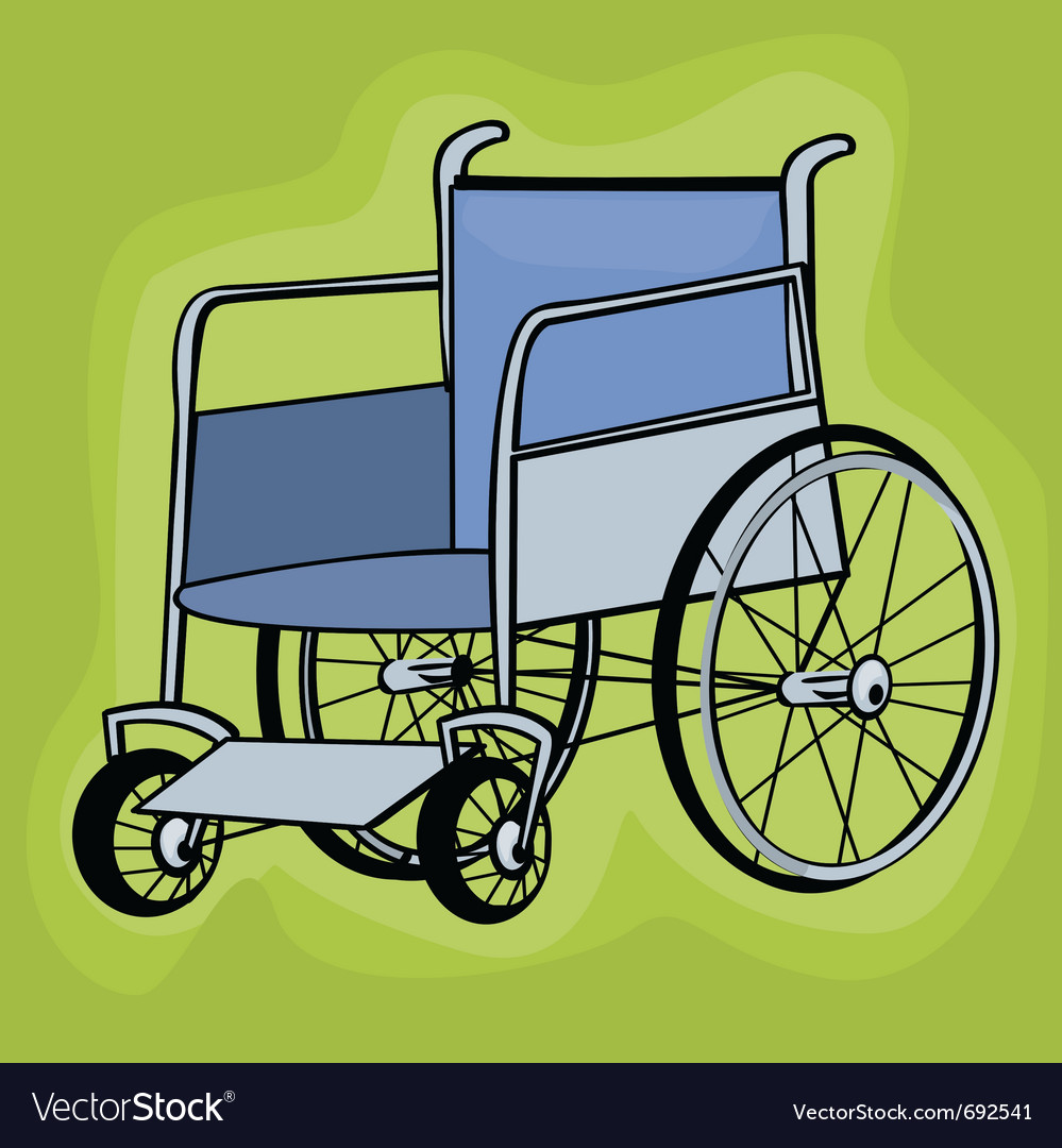 Wheelchair icons vector | Price: 1 Credit (USD $1)