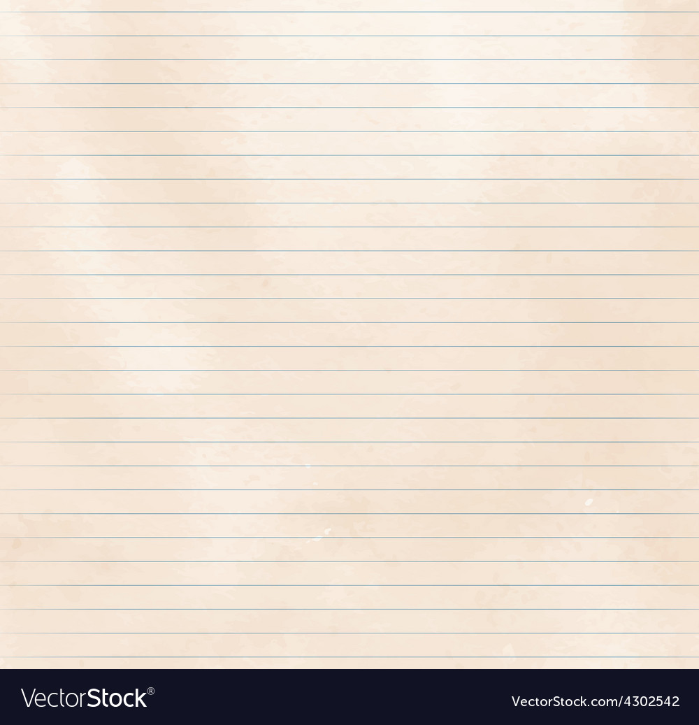 Lined paper texture vector | Price: 1 Credit (USD $1)