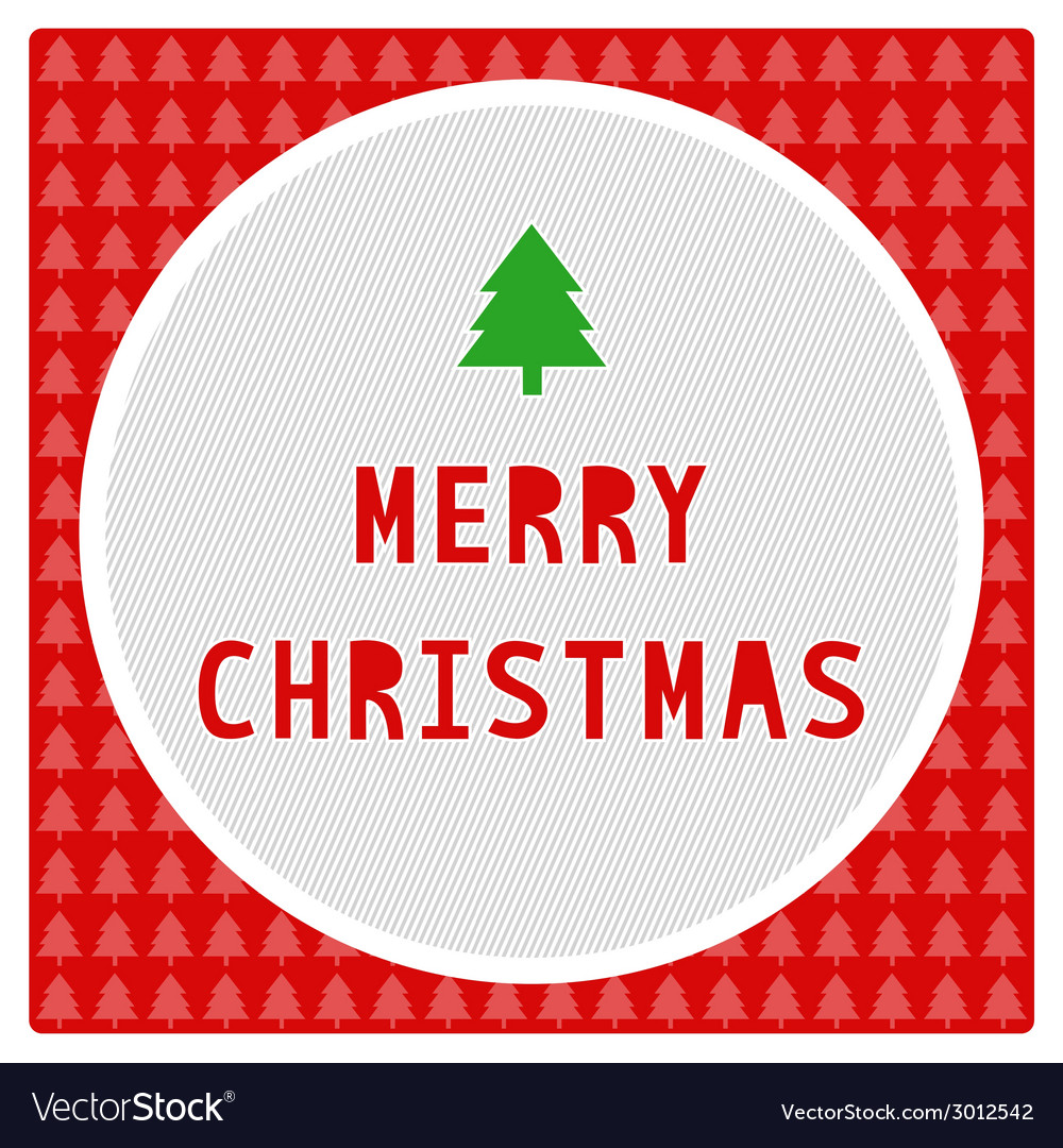 Merry christmas greeting card7 vector | Price: 1 Credit (USD $1)