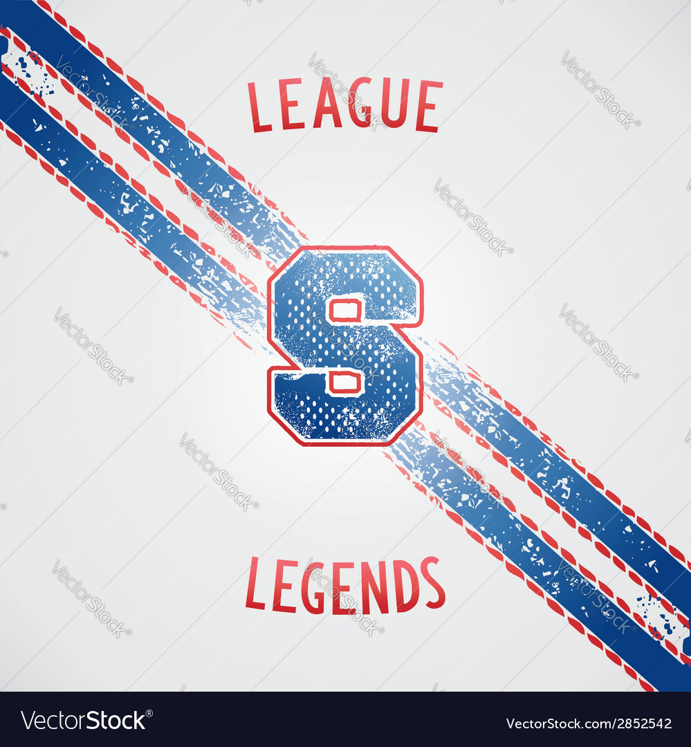 Sporting vintage design vector | Price: 1 Credit (USD $1)