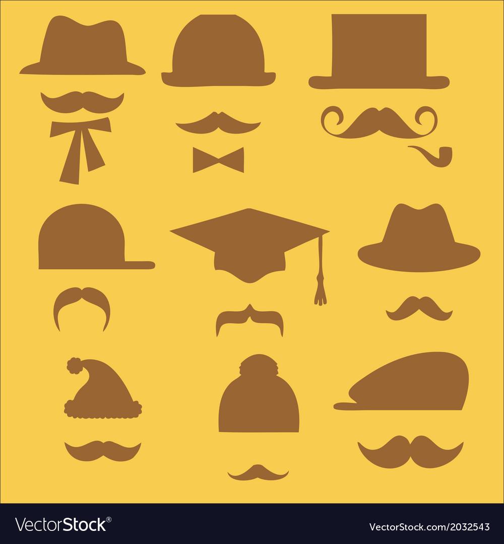 Mustache 2 vector | Price: 1 Credit (USD $1)