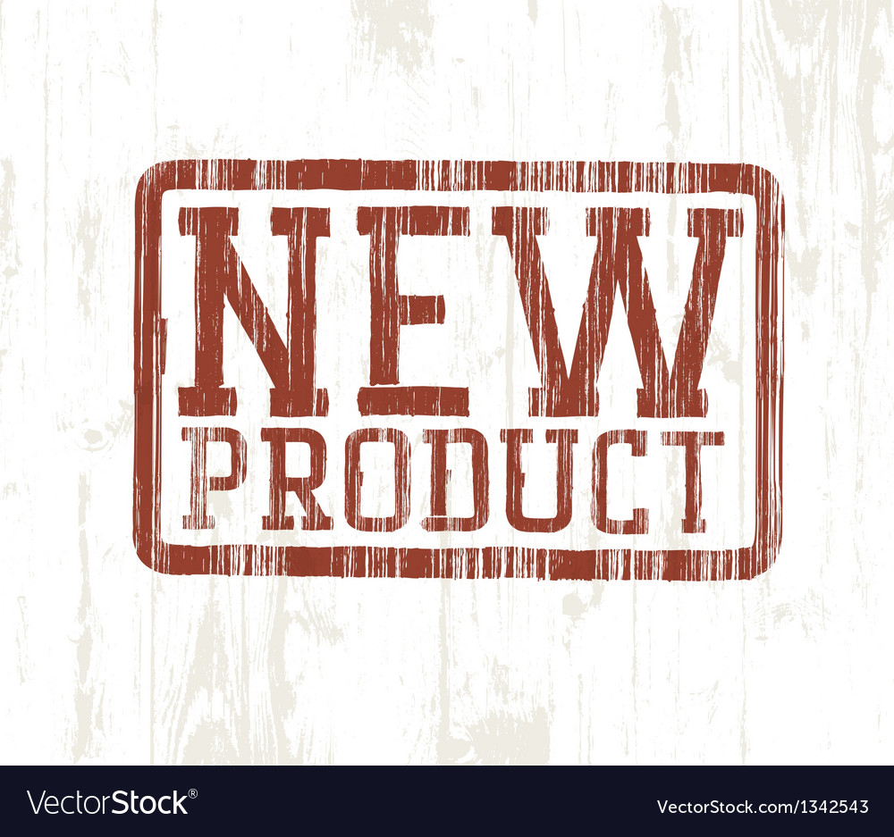 New product stamp vector | Price: 1 Credit (USD $1)
