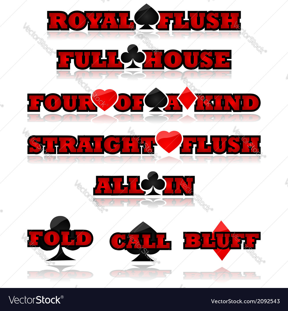 Poker expressions vector | Price: 1 Credit (USD $1)