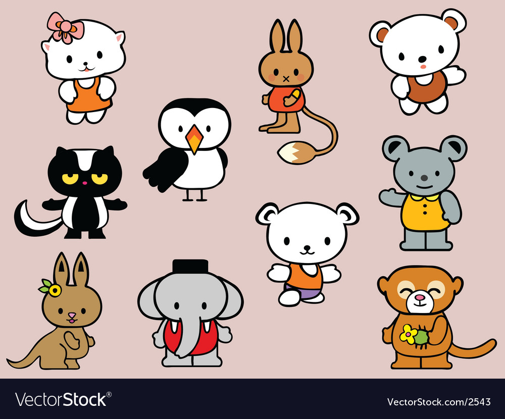 Toy collection vector
