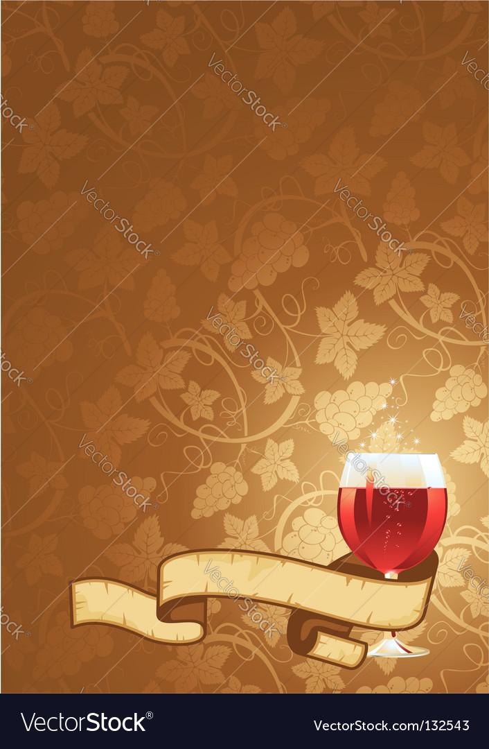 Wine background vector | Price: 1 Credit (USD $1)