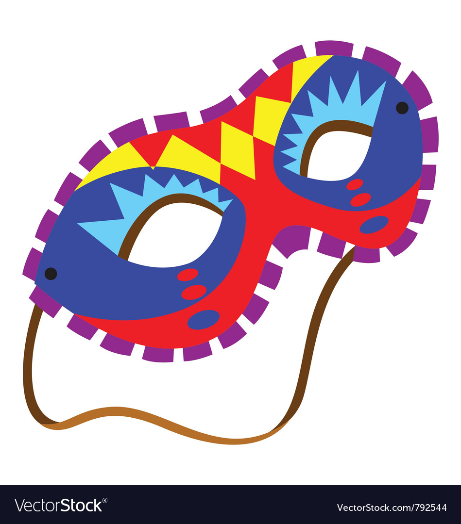 A mardi gras mask vector | Price: 1 Credit (USD $1)