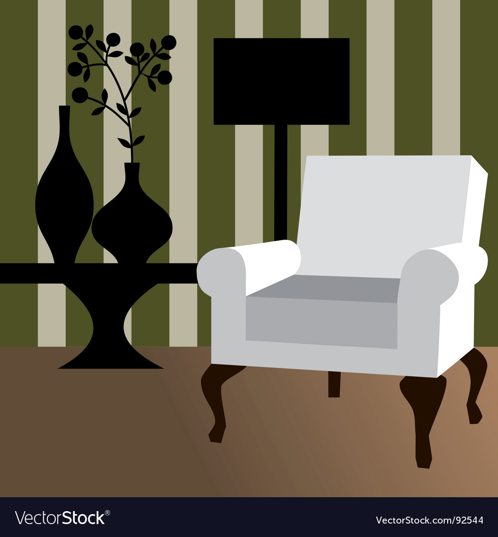 Modern interior vector | Price: 1 Credit (USD $1)