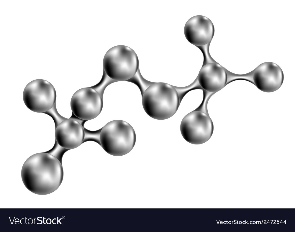 Molecular model vector | Price: 1 Credit (USD $1)