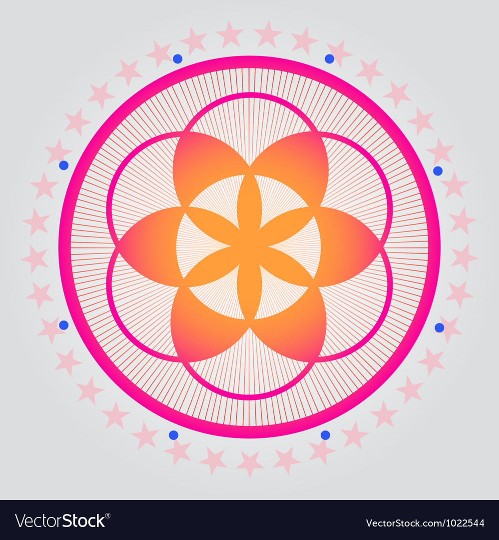 Sacred geometry 01 vector | Price: 1 Credit (USD $1)