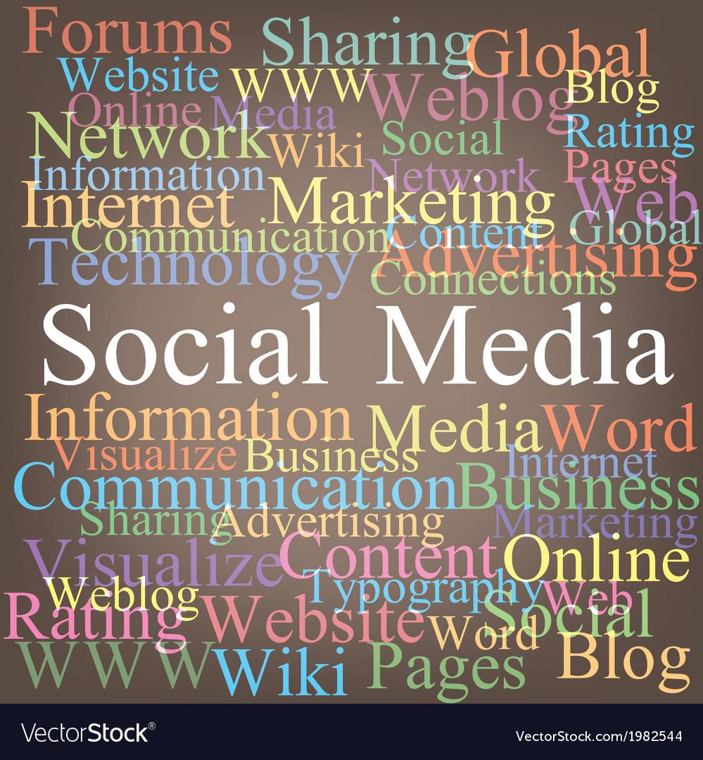 Social media vector   Price: 1 Credit (USD $1)